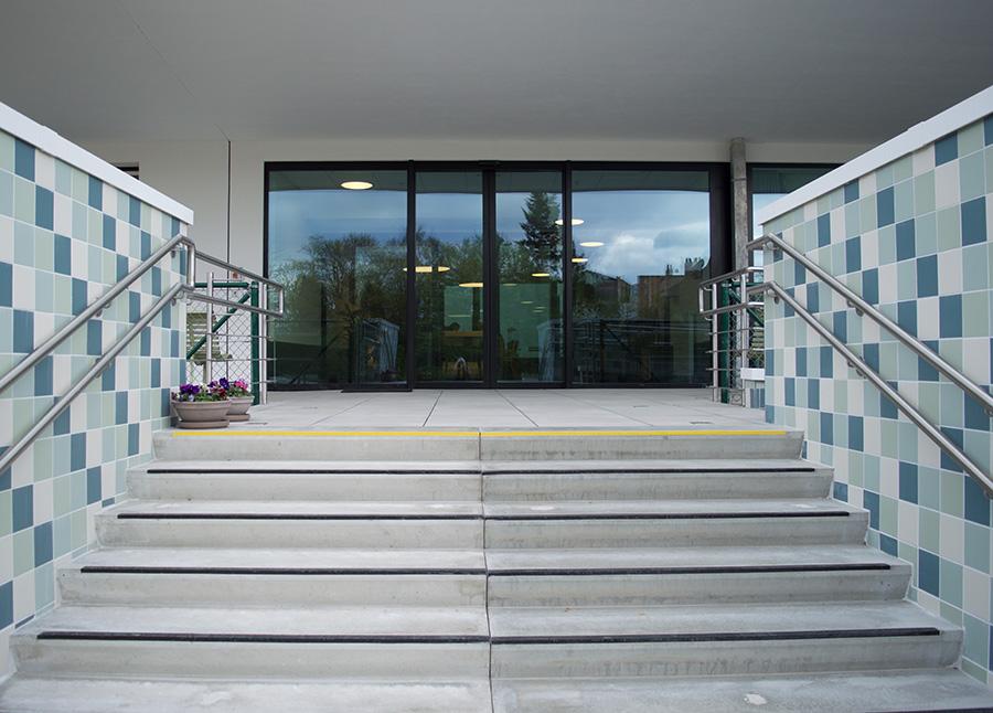L'entrée - Stephenson Garden