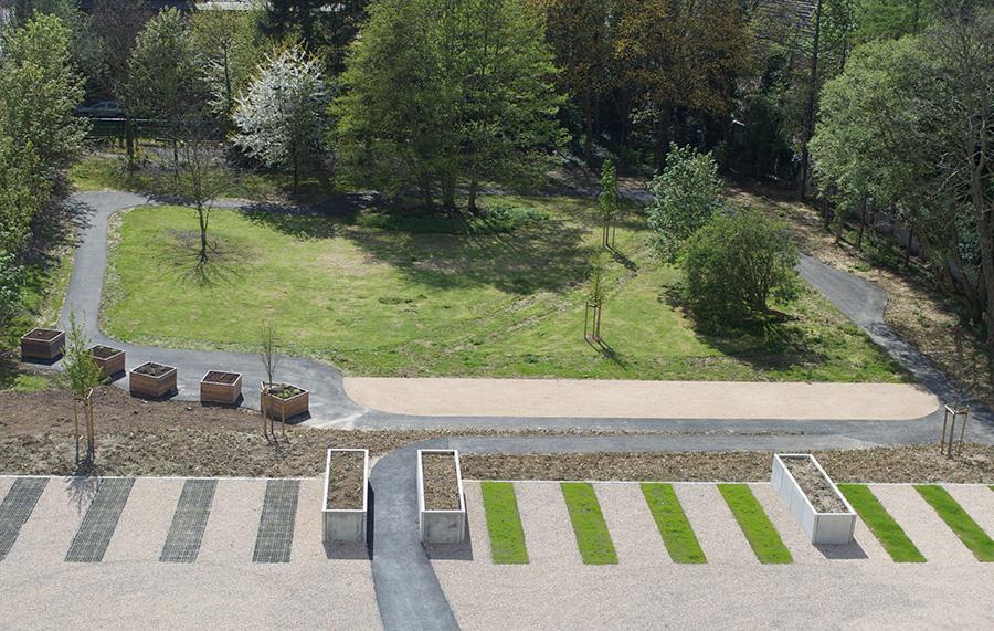 Le jardin, les extérieurs - Stephenson Garden