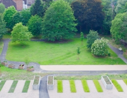 Le jardin - Stephenson Garden