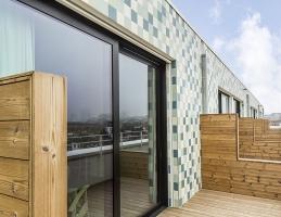 La terrasse de la chambre - Stephenson Garden
