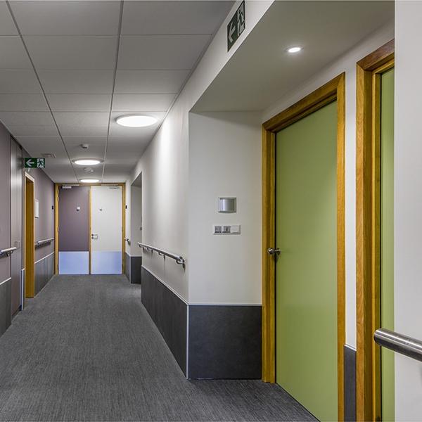 Vue du couloir - Stephenson Garden